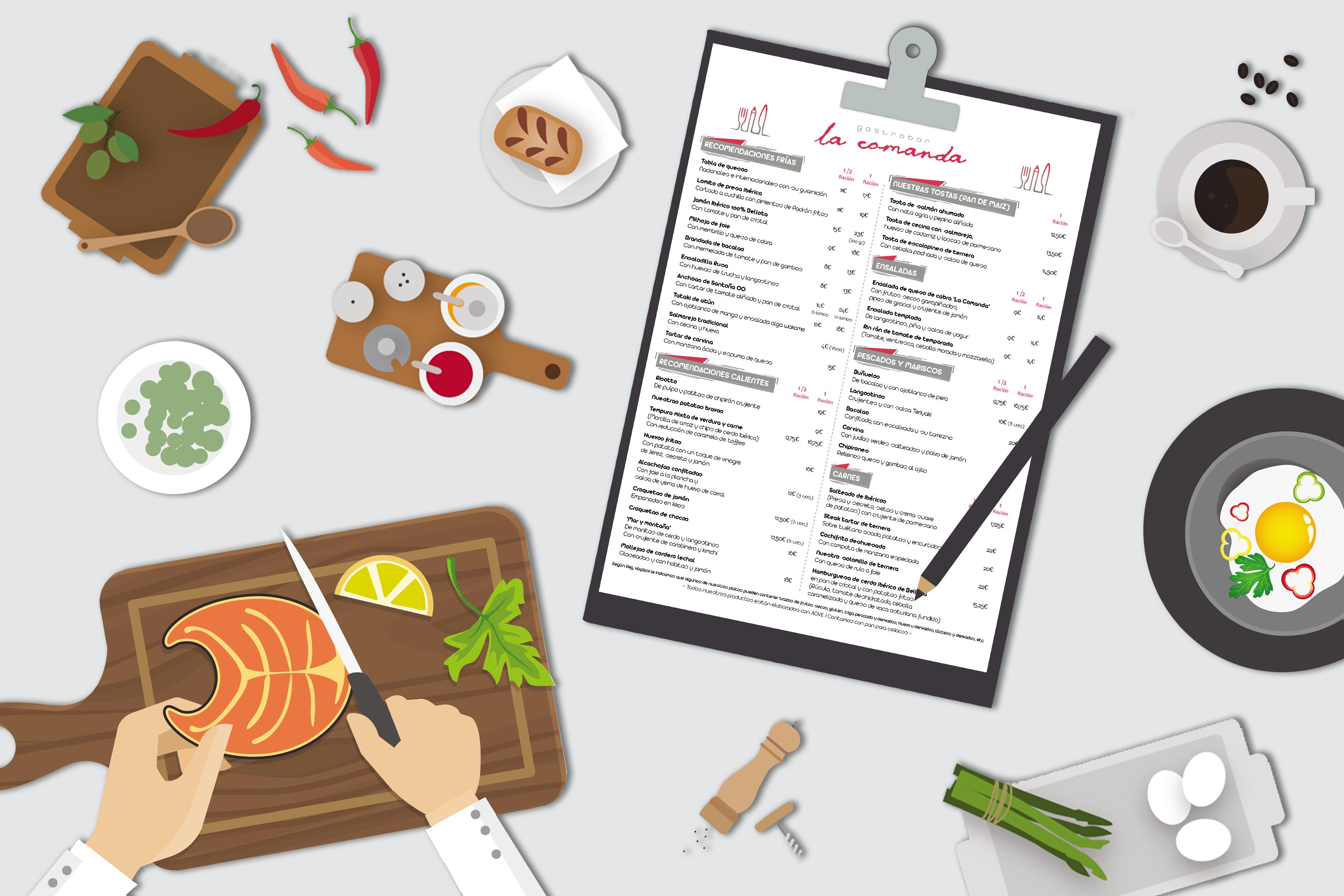 La Comanda Gastrobar QrCarta